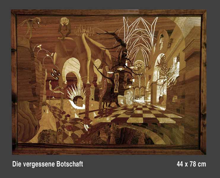 Michael Gaide Marqueterien Osnabrück Intarsien Kunst Kultur